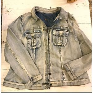 Kut from the kloth Amelia denim jacket